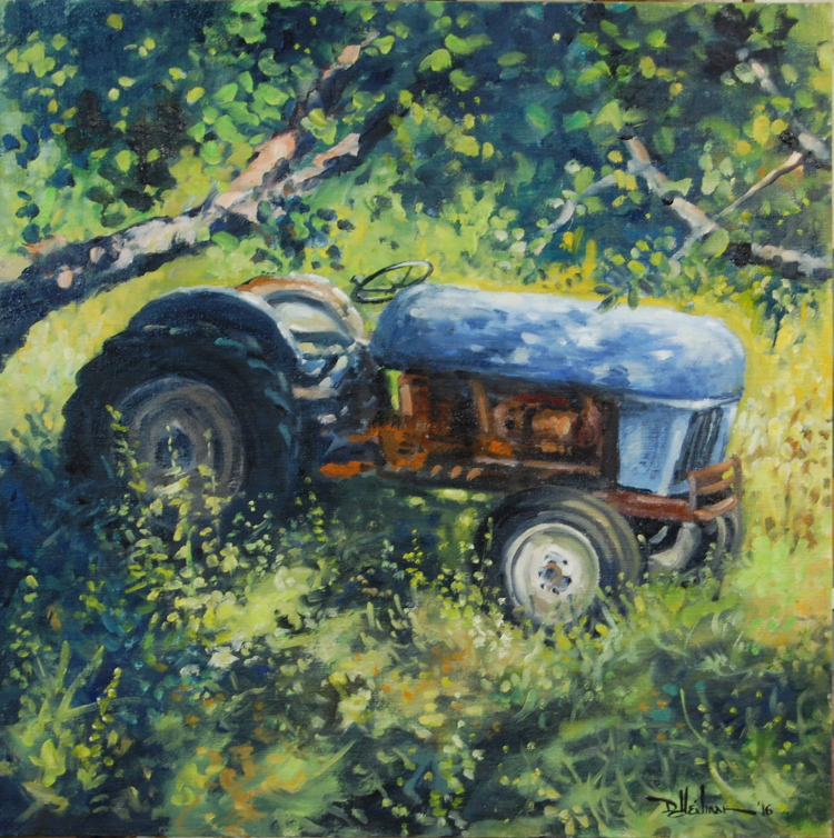 """Orchard Workhorse""- 24"" x 24"" $1,500"