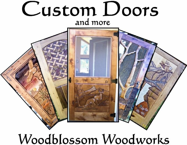 Custom Doors and more by Guy Brooke, Woodblossom Woodworks