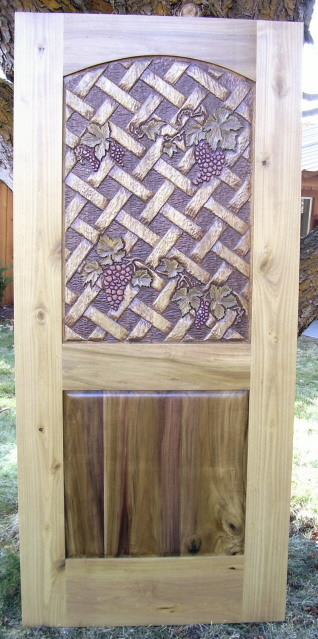 Grapes & Lattice Poplar