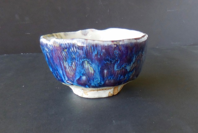 Cup/Bowl, inner blue