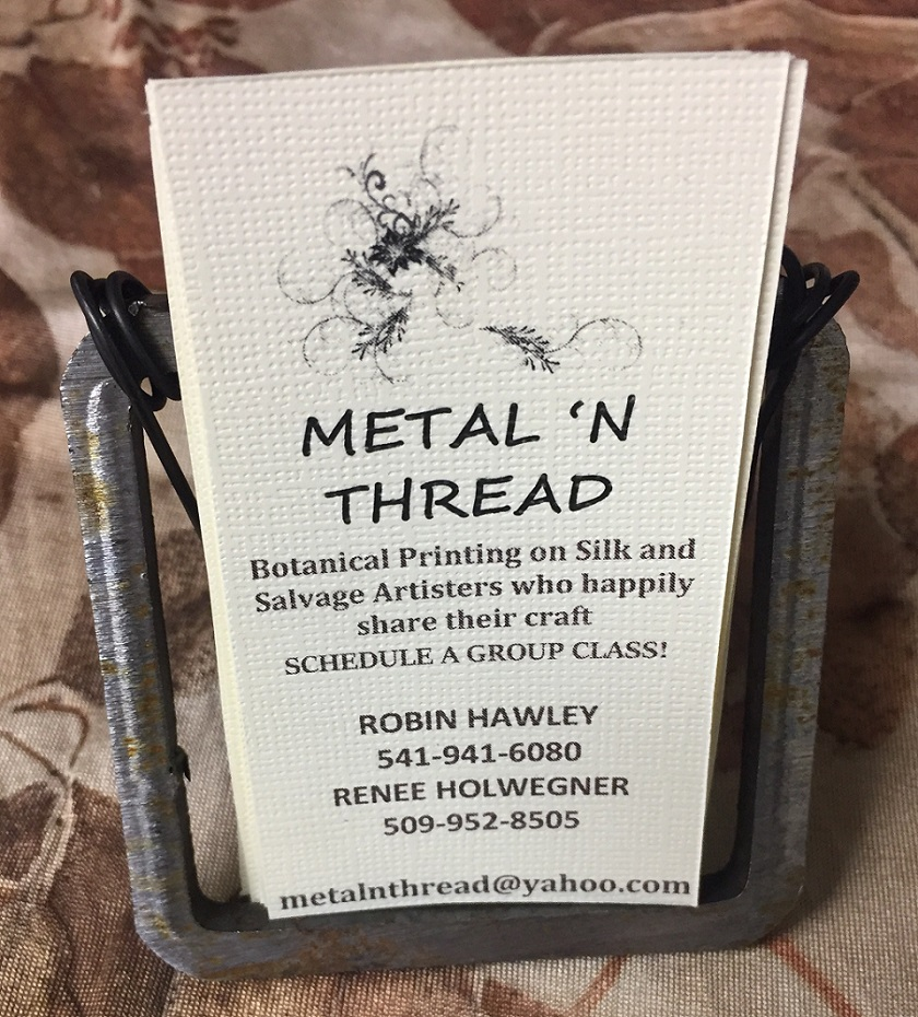 Metal 'n Thread