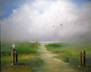 "Lifting Fog, 16 by20""   $175"