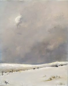 "Winter on the Palouse 20 by 16"" (unframed) - $150"