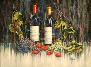 Fruit of the Vine Acrylic on Canvas 18 x 24 x .75 $1,190