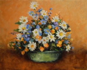 """""""Still Life with Flowers"""" 16"""" x 20"""" $650"""