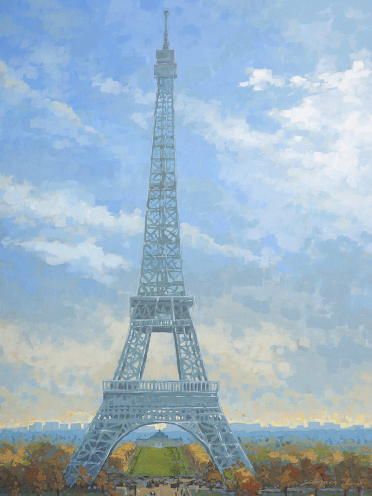 "Eiffel Tower Print - 9""x12"", 5""x7"" Price: $22, $12"