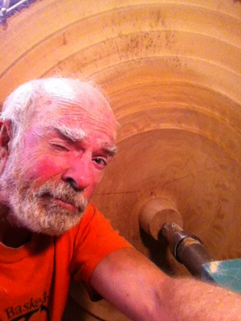 The day John Barany retired from his medical practive, Deiter showed him how to 'turn' wood on Mario Gasperetti's old lathe. The rest is history.