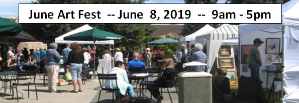 June Art Fest -- Chalet Place, 56th & Summitview, Yakima