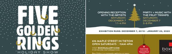 Boxx Gallery, 1616 Maple Street, Tieton, Open Saturdays, 11 – 4