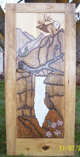 Elk Mountain - Alder wood