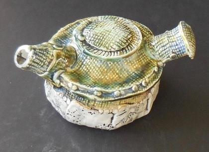 Sculpture Tea Pot