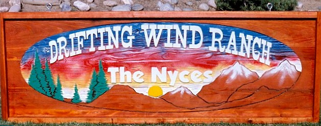 Drifting Wind Ranch Sign
