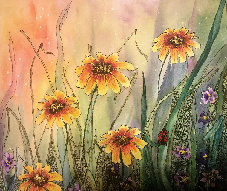 Toward the Light by Meldra Driscoll