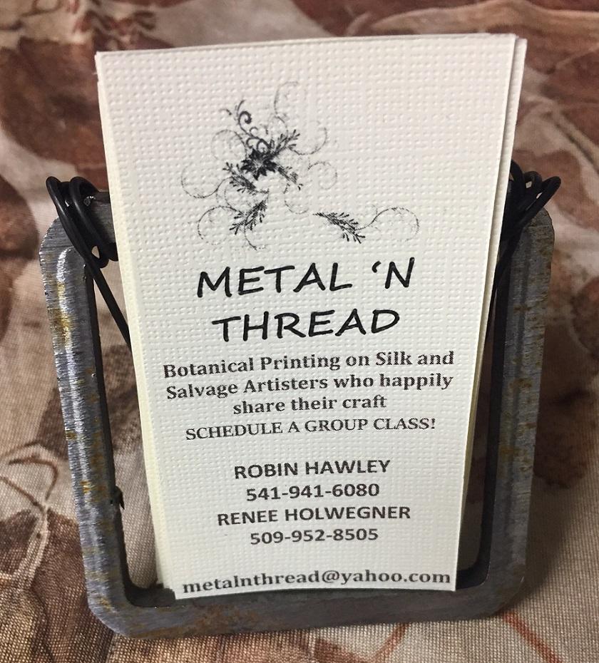 Metal 'n Thread