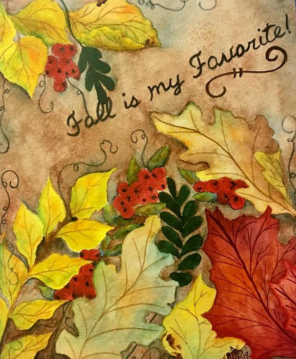 """""""Fall Leaves"""" Beginner"""