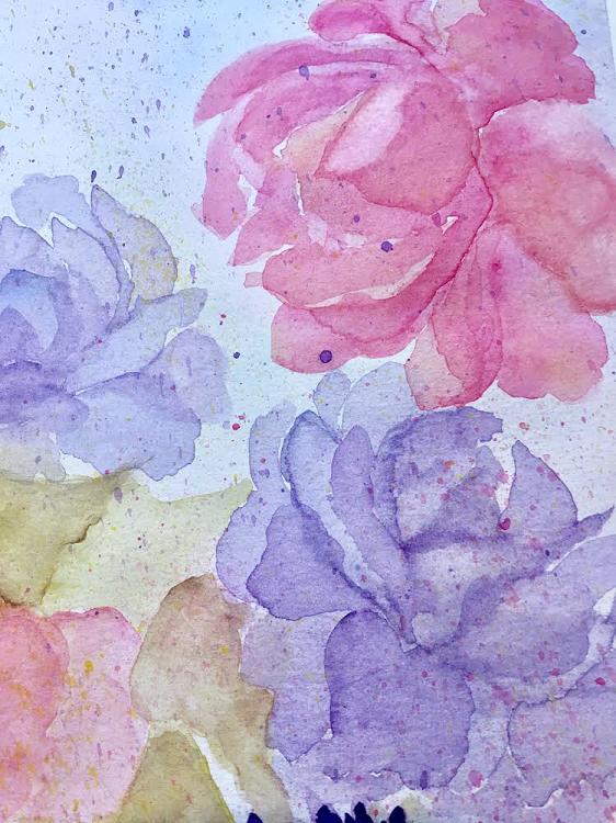 """""""Loose Flowers"""" Beginner"""