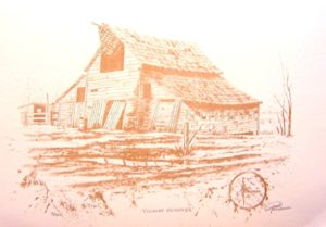 """Country Memories coffee on Paper 15 x 18"""" unframed $330"""