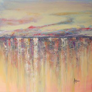 """Painted Desert II Acrylic on Canvas 24 x 24"""" $425"""