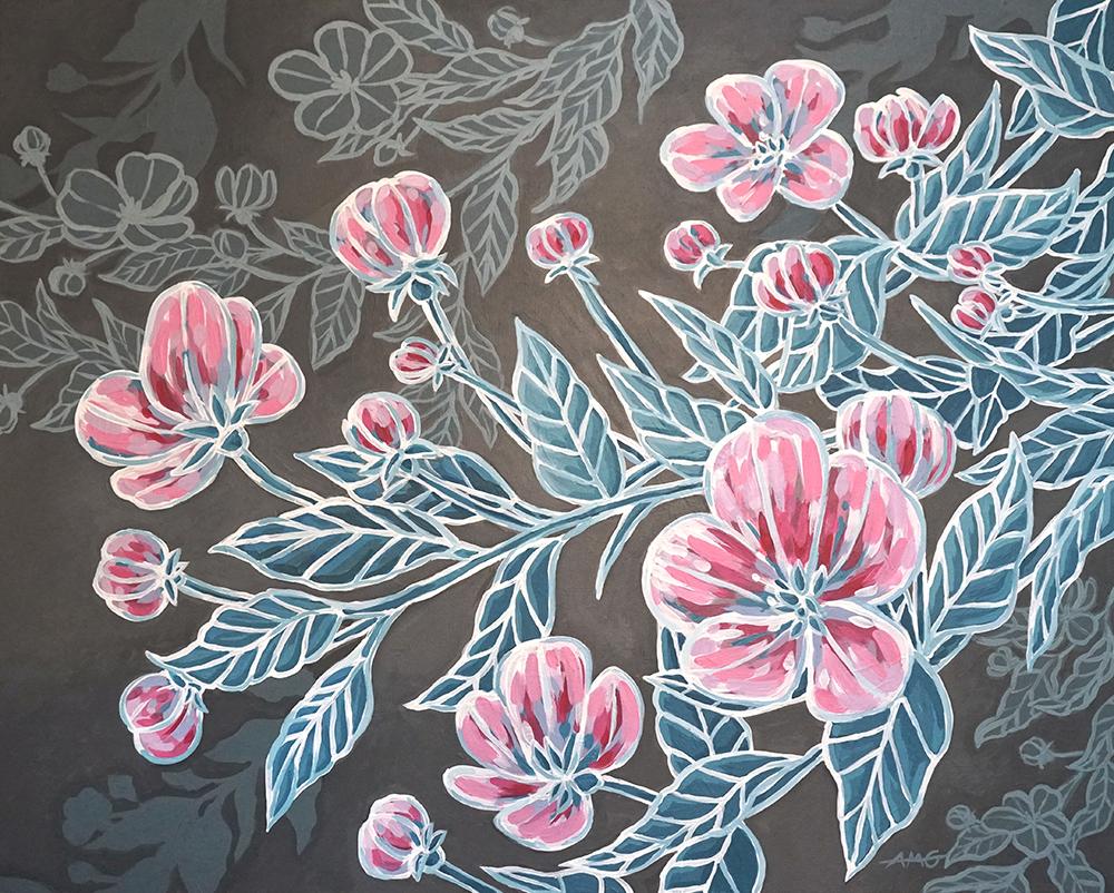 "Cherry Blossoms Print - 11""x14"" Price: $32"