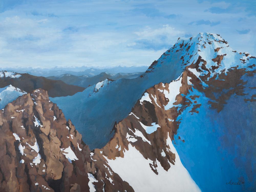 "Mountain Landscape Print - 8""x10"", 5""x7"" Price: $22, $12"