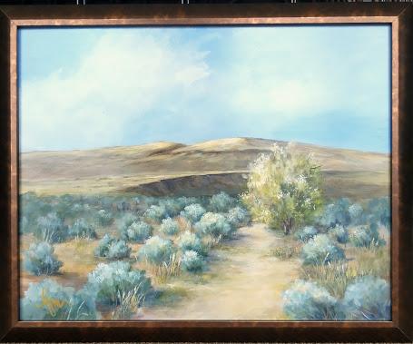Yakima Steppe 16x20 plus frame. $185