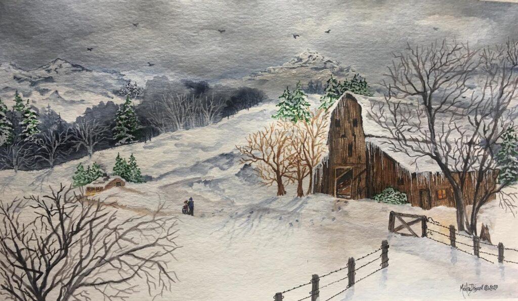 Winter Near Tieton