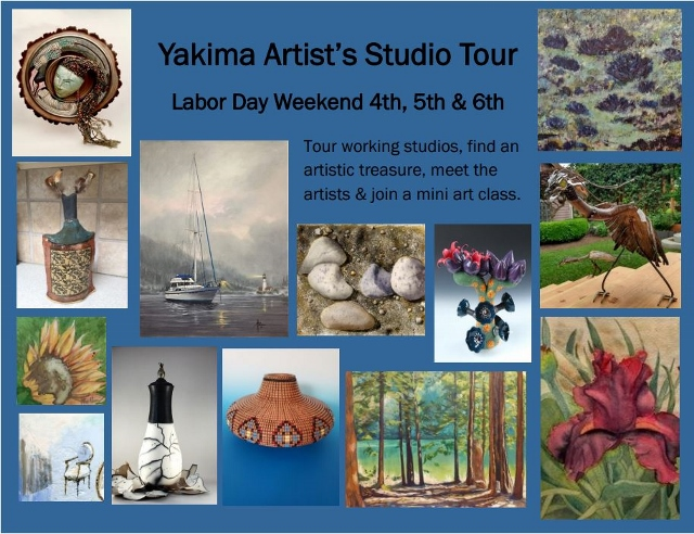 Artebella Art Gallery presents... Labor Day Weekend Tour of Artists Studios